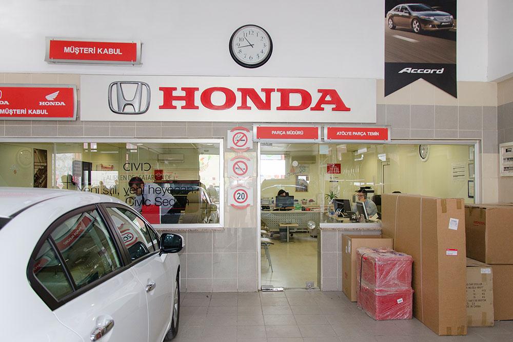 Honda Plaza  Haldız