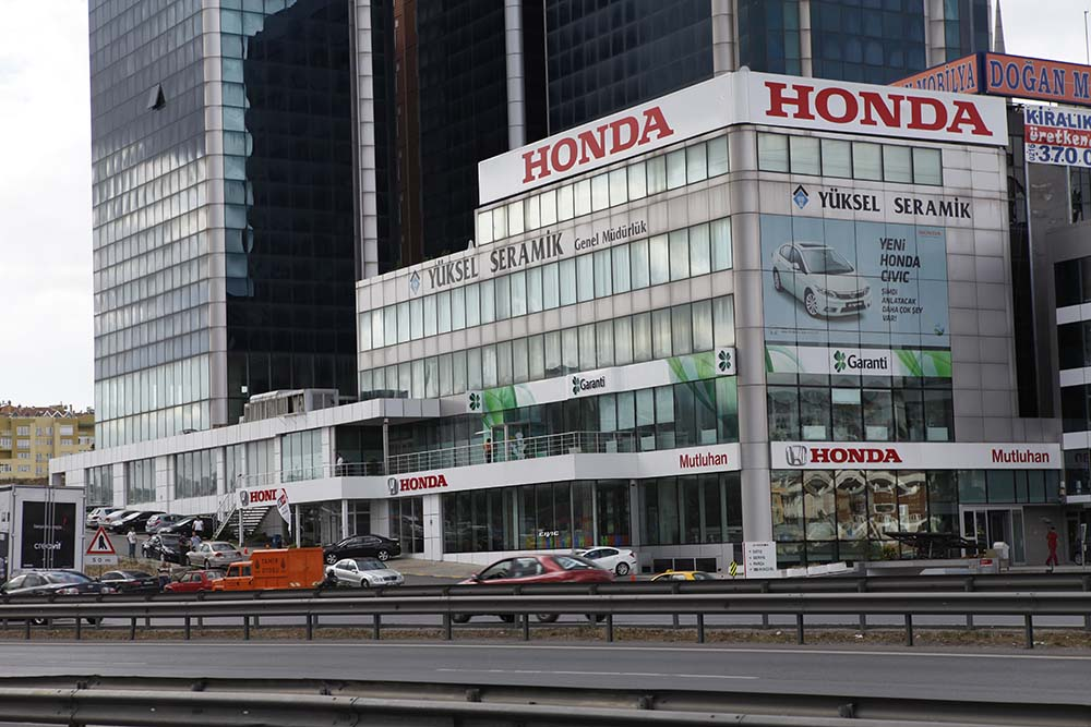 Honda Plaza  Mutluhan