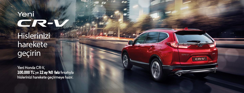 Yeni Honda CR-V, Hislerinizi Harekete Geçirin
