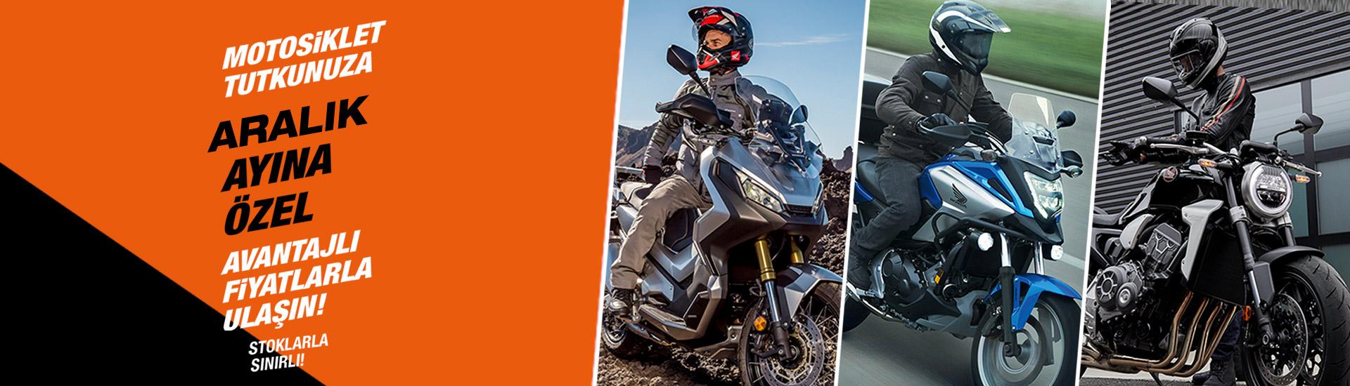 Motosiklet Tutkunuza Aralık Ayına Özel Avantajlı Fiyatlarla Ulaşın!